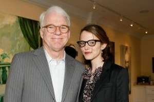 Steve Martin and wife Ann Stringfield in 2009. (Michael Buckner/Getty Images)