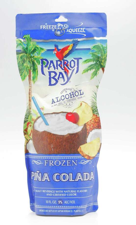 You can put away the measuring cups, blendy and even the glass. With the number of beverage pouches hitting the market, such as this from Parrot Bay, slipping away to Margaritaville has never been quite so simple. (Ross Hailey/Fort Worth Star-Telegram/MCT) Photo: Ross Hailey / Fort Worth Star-Telegram