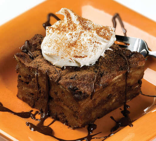 Chocolate Bread Pudding/blogspot.com
