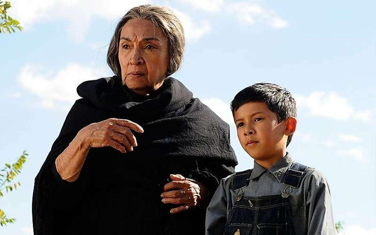 """Miriam Colon and Luke Ganalon in """"Bless Me, Ultima"""""""