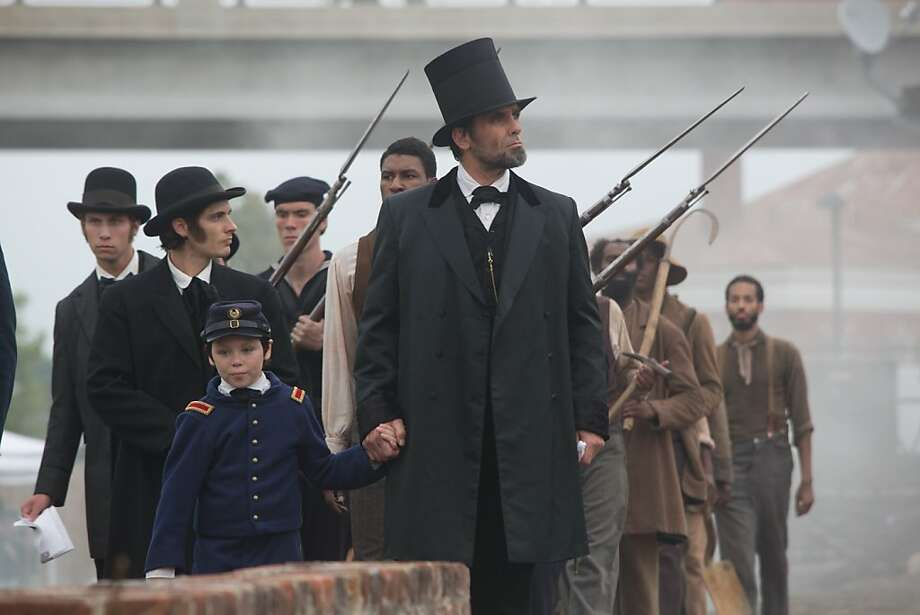 Billy Campbell plays President Lincoln in docudrama. Photo: Kent Eanes, National Geographic Channels