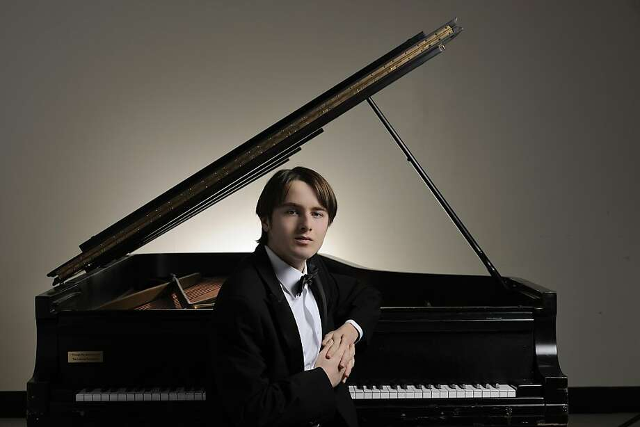 Russian pianist Daniil Trifonov jackhammered his way through performance. Photo: SF Symphony