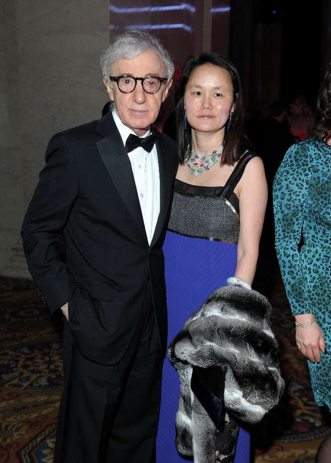 Woody Allen and Soon-Yi Previn attend the amfAR New York Gala to kick off Fall 2013 Fashion Week at Cipriani Wall Street on February 6, 2013 in New York City.  (Photo by Michael Loccisano/Getty Images for Mercedes-Benz Fashion Week) Photo: Michael Loccisano, (Credit Too Long, See Caption) / 2013 Getty Images