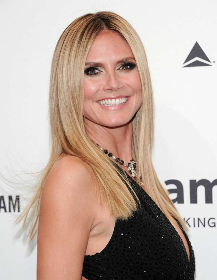 Television personality Heidi Klum attends amfAR's New York gala at Cipriani Wall Street on Wednesday, Feb. 6, 2013 in New York. (Photo by Evan Agostini/Invision/AP) Photo: Evan Agostini, Associated Press / Invision
