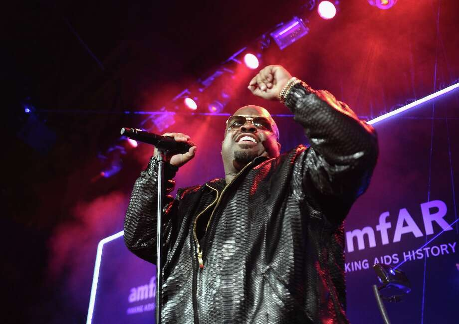 Cee Lo Green performs onstage at the amfAR New York Gala to kick off Fall 2013 Fashion Week at Cipriani Wall Street on February 6, 2013 in New York City.  (Photo by Michael Loccisano/Getty Images for Mercedes-Benz Fashion Week) Photo: Michael Loccisano, (Credit Too Long, See Caption) / 2013 Getty Images