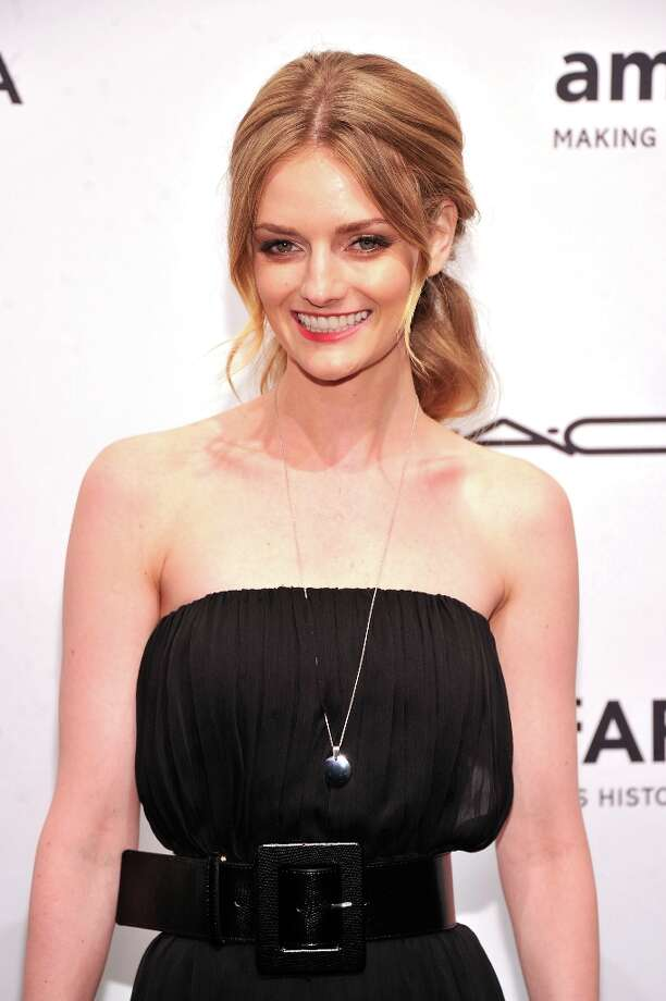 Lydia Hearst-Shaw attends the amfAR New York Gala to kick off Fall 2013 Fashion Week at Cipriani Wall Street on February 6, 2013 in New York City.  (Photo by Stephen Lovekin/Getty Images for Mercedes-Benz Fashion Week) Photo: Stephen Lovekin, (Credit Too Long, See Caption) / 2013 Getty Images