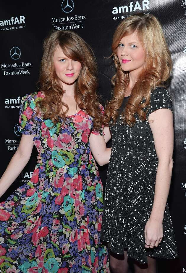 Rachel Jacques (L) and Nicole Jacques attend the amfAR Gala after party in celebration of Mercedes-Benz Fashion Week at SL on February 6, 2013 in New York City. Photo: Mike Coppola, Getty Images For Mercedes-Benz F / 2013 Getty Images
