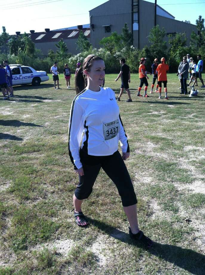 Toolan started running to improve her health after returning from Benin. She will participate in the ConocoPhillips Rodeo Run 10K this month. Photo: Courtesy Erin Toolan