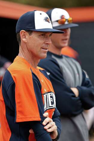 New UTSA baseball coach Jason Marshall spent 17 years as an assistant at his alma mater Texas A&M, followed by McMurry and with the Roadrunners. Photo: Courtesy Photo / Jeff Huehn