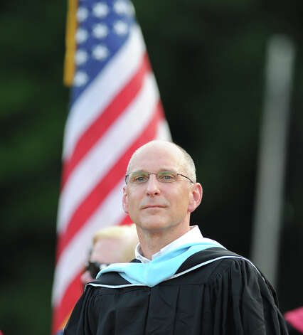 Greenwich High School Headmaster Chris Winters made $171,324.67 in 2012. Photo: Bob Luckey / Greenwich Time