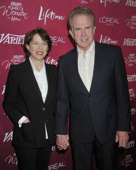 Notorious bachelor Warren Beatty settled down with Annette Bening, his Bugsy co-star, in 1992. The c