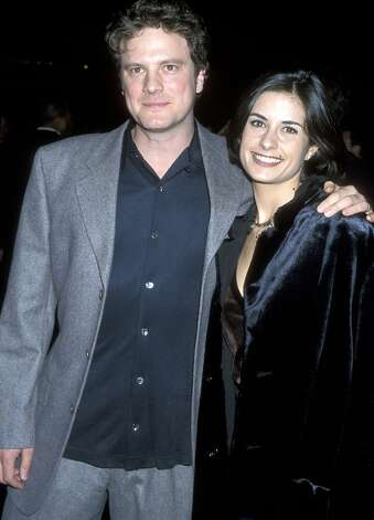 Colin Firth and Livia Giuggioli at the premiere of Shakespeare in Love in 1998. Photo: Ron Galella, WireImage / Ron Galella Collection