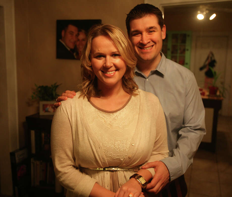 Fairfield residents Katie Hanscom, 27, and Tony Kellogg, 28, are getting married after dating for four-and-a-half years. Photo: Brian A. Pounds / Connecticut Post