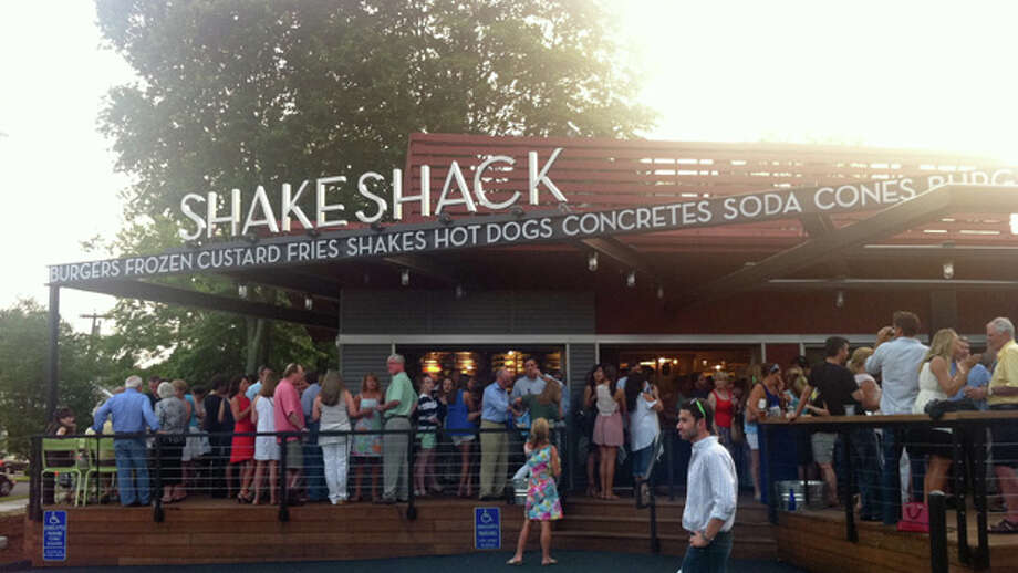 Shake Shack is seen at 1849 Post Road East in Westport, Conn., on Tuesday, July 19, 2011. The new location, Connecticut's first, will open Wednesday, July 20, 2011. Photo: Brett Mickelson / Connecticut Post