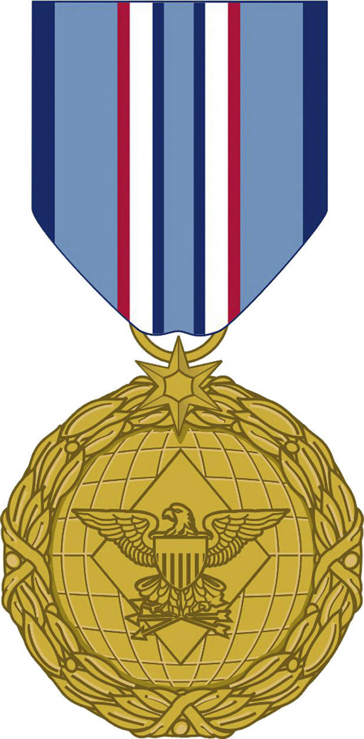 Illustrations show the two sides of the Distinguished Warfare Medal, the newest combat-related award since Bronze Star.