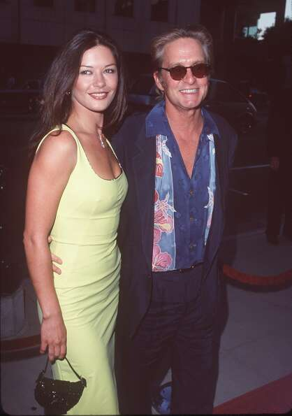 Michael Douglas and Catherine Zeta-Jones in 1999.