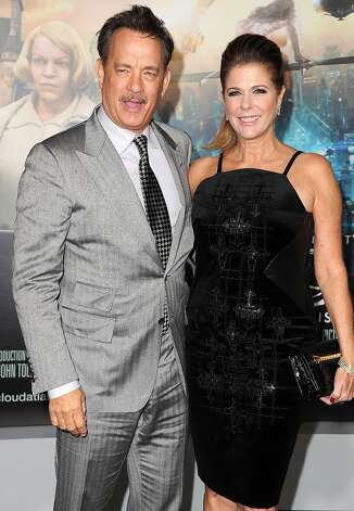 Tom Hanks and actress Rita Wilson were married in 1988 after feeling sparks fly on the set of 1985's Volunteers. They have two sons (Hanks also has two kids from his previous marriage). Photo: Steve Granitz, WireImage / 2012 Steve Granitz