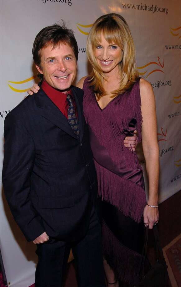 """In 1985, Michael J. Fox was one of the top young stars and knew it. Tracey Pollan had a role on the show Fox starred on, """"Family Ties,"""" and before filming a scene Fox made a remark asking if she had scampi for lunch. """"And then we stepped backstage to go to do the next scene, and she said, 'That was the rudest thing anyone ever said to me, and you're a rude SOB and — I have to censor it,'"""" Fox recalled in a 2003 interview. """"And I just went, 'Wow! How cool!' You know? And so I had a crush from that point on. I mean, look at her. She's beautiful. And had the balls to tell the emperor that he was naked."""" There were married three years later. Last year, Fox said after his Parkinson's diagnosis at age 29 he was freaked out and kept a lot of it to himself. He said Pollan kept reassuring him saying, """"Be where you are, and I'll be there with you."""""""