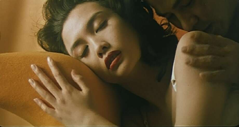 Chingmy Yau (with Simon Yam) in Naked Killer.