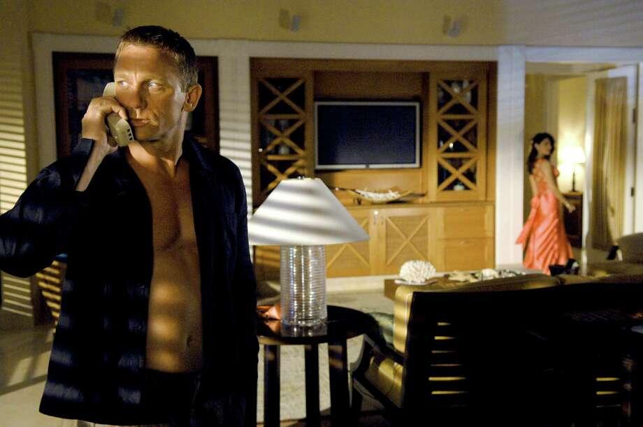 Casino Royale -- Eva Green and Daniel Craig. Photo: Jay Maidment
