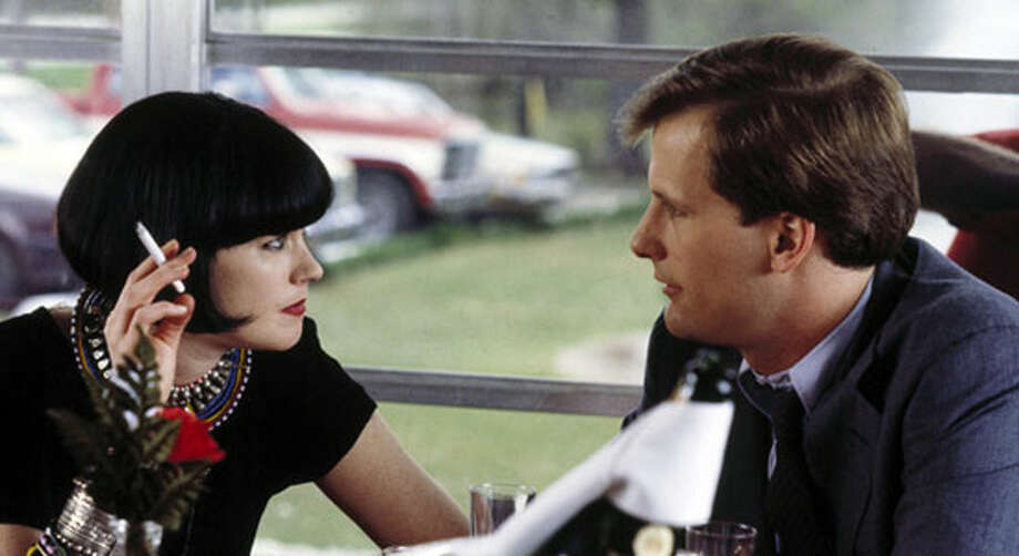 Melanie Griffith and Jeff Daniels in SOMETHING WILD. / n/a