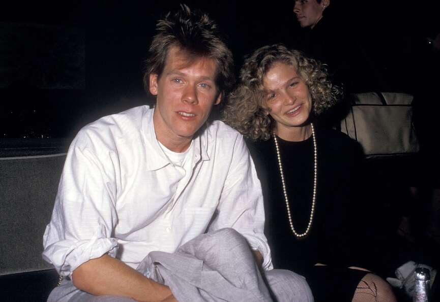 Kevin Bacon and Kyra Sedgwick in 1987.
