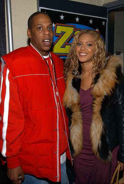 Jay-Z and Beyonce Knowles in 2002.