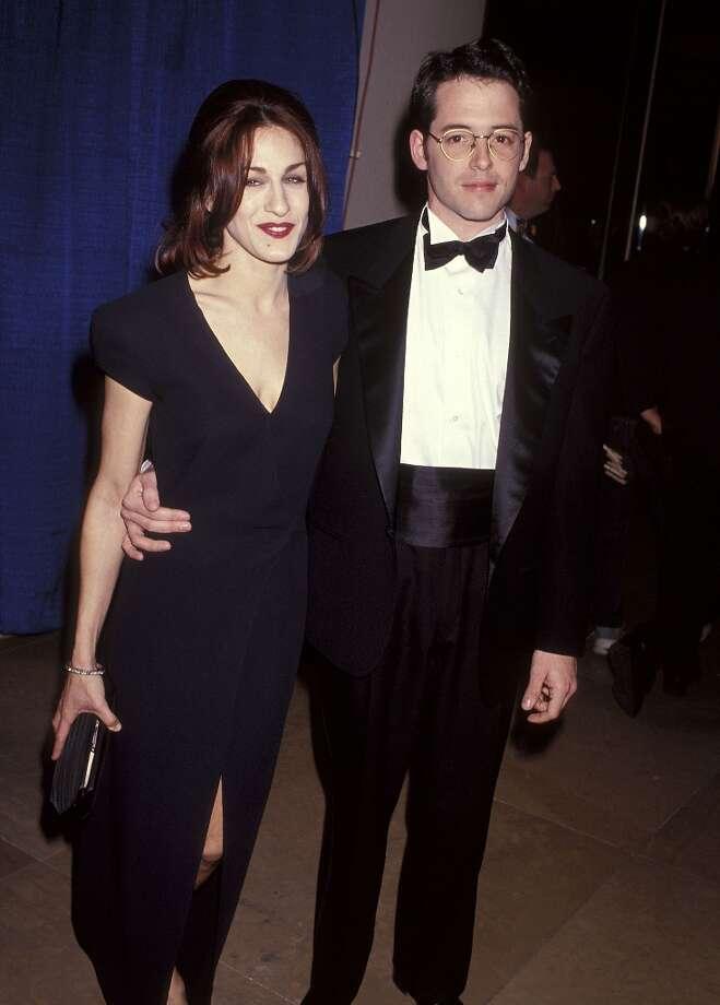Sarah Jessica Parker and Matthew Broderick in 1993. Photo: Ron Galella, Ltd., WireImage / 1993 Ron Galella, Ltd.