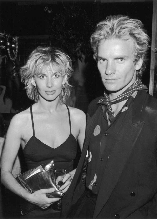 Sting and Trudie Styler in 1982. Photo: Dave Hogan, Getty Images / 2004 Getty Images