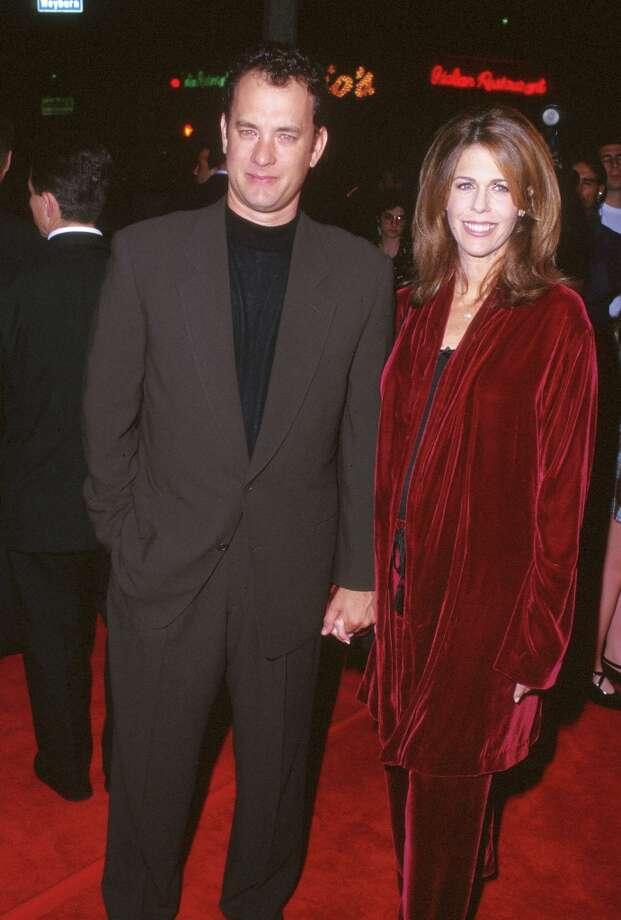 Tom Hanks and Rita Wilson in 1985. Photo: SGranitz, WireImage / WireImage