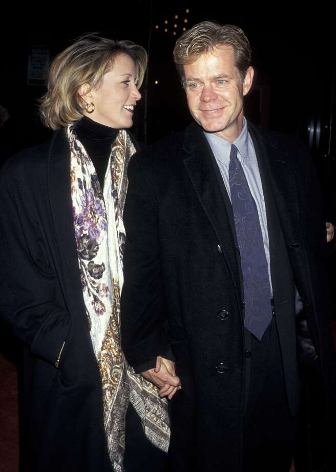 Felicity Huffman and William H. Macy in 1996. Photo: Ron Galella, WireImage / Ron Galella Collection