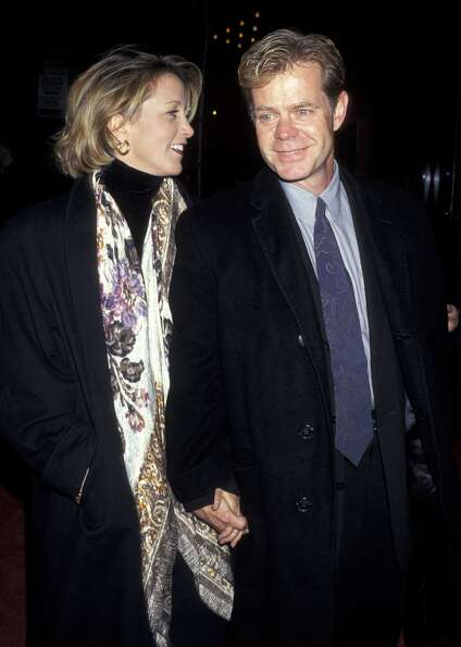 Felicity Huffman and William H. Macy in 1996.