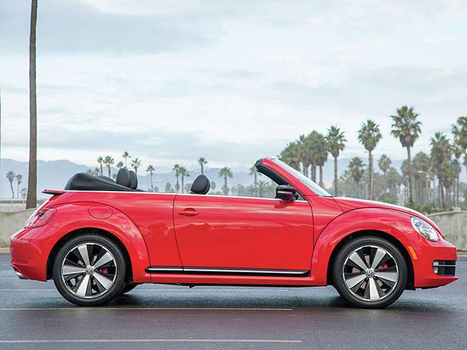 2013 Volkswagen Beetle Turbo Convertible  (photo courtesy Volkswagen)