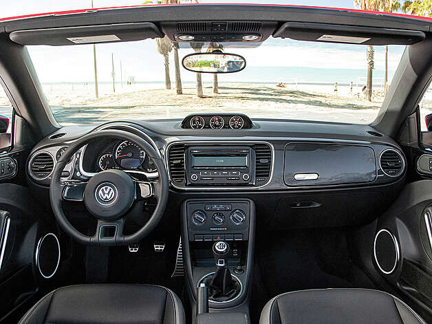 2013 Volkswagen Beetle Turbo Convertible  (photo courtesy Volkswagen)