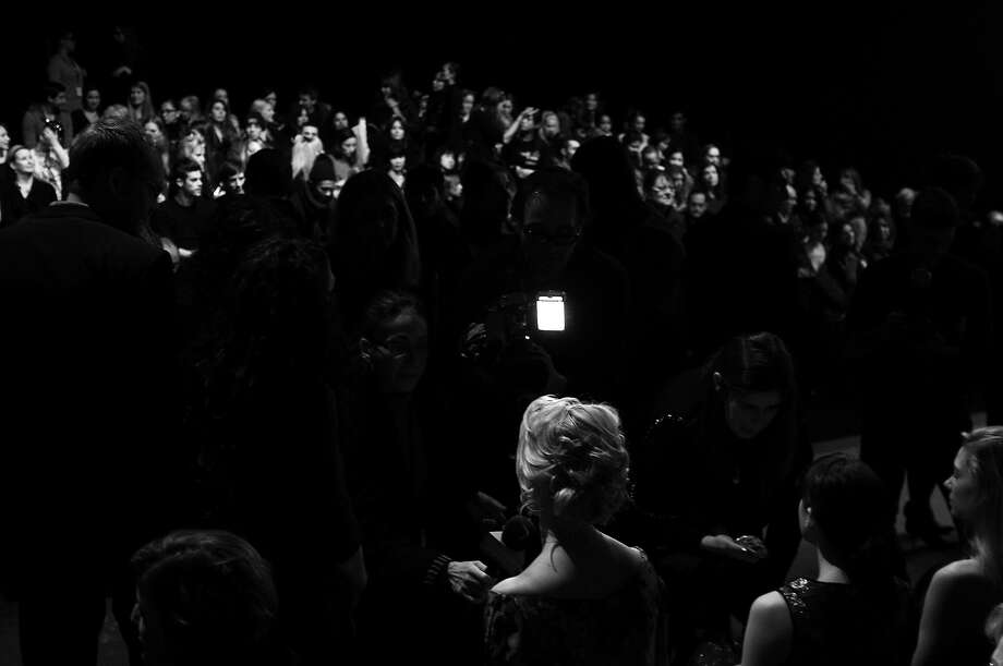 A general view of atmosphere during Fall 2013 Mercedes-Benz Fashion Week at Lincoln Center on February 13, 2013 in New York City. Photo: Bryan Bedder, Getty Images / 2013 Getty Images