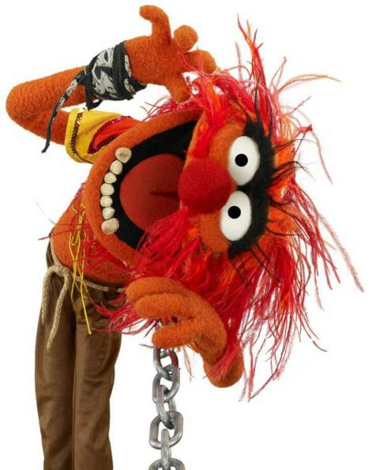 It doesn't get much crazier than the rock n' roll Muppet.