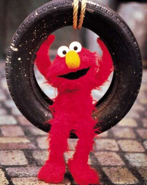 No one could ever wear Elmo. Could they?