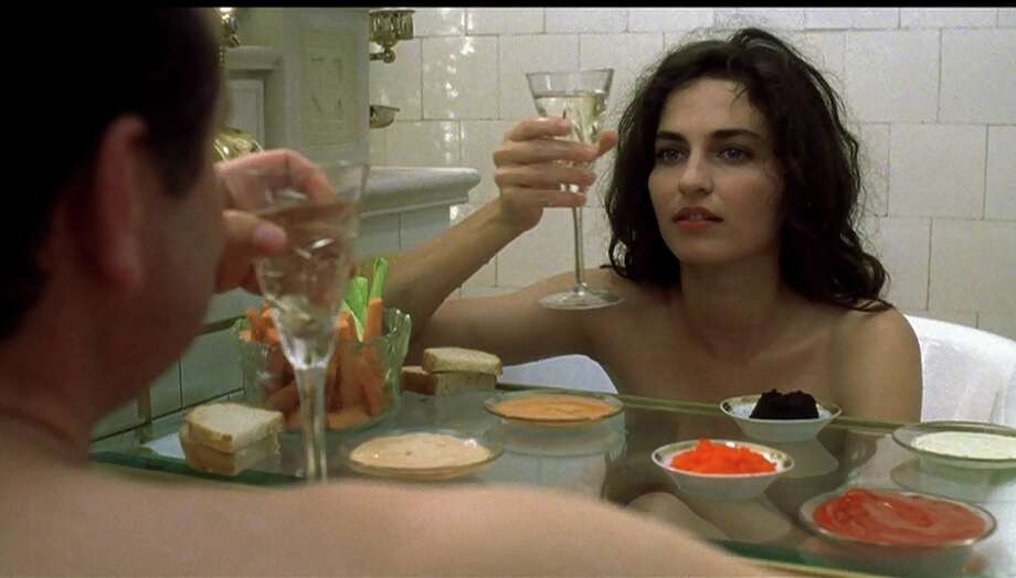 Gloomy Sunday -- one of the best films of the 1990s, starring Joachim Krol and Erika Marozsan.  They're seconds away from getting rid of that tray.