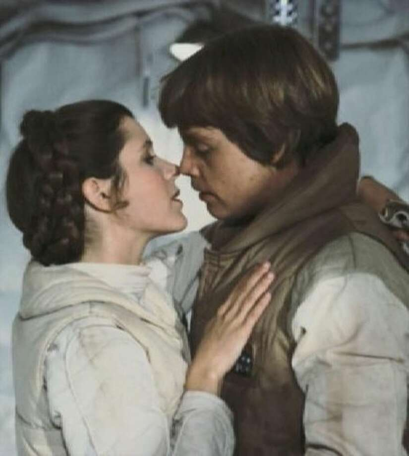 Luke and Leia.
