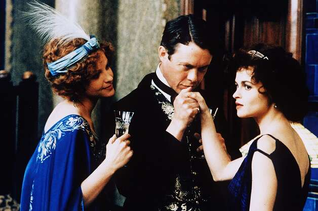 Wings of the Dove.  The best romantic scenes involve Linus Roache and Alison Elliott (left).  But the intense love scenes -- the movie was talked about for this -- involved Roache and Helena Bonham Carter.