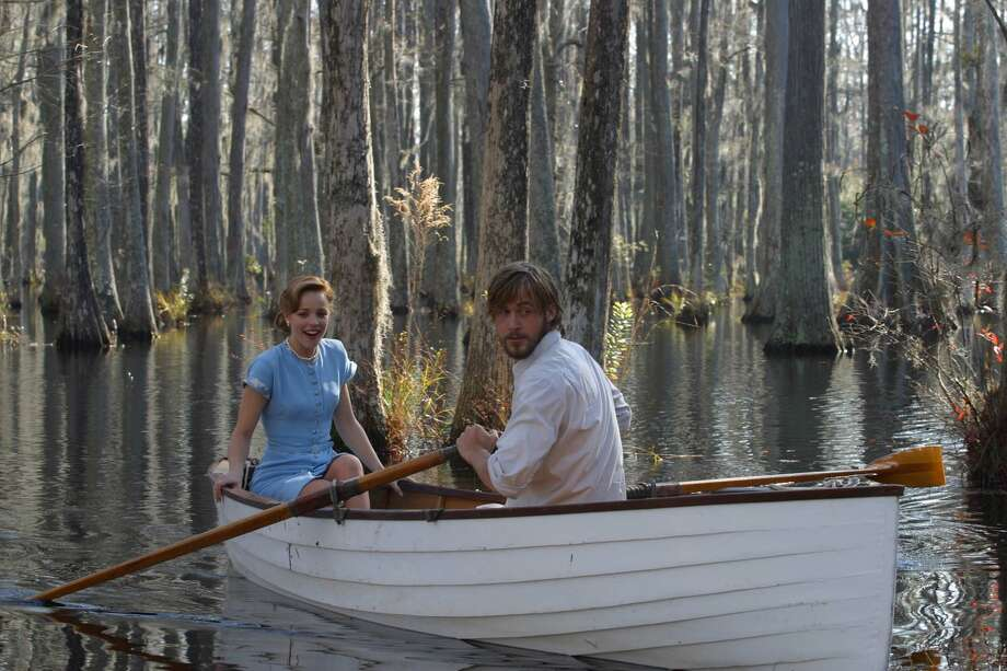 Rachel McAdams and Ryan Gosling  in The Notebook. Photo: MELISSA MOSELEY, AP / NEW LINE PRODUCTIONS