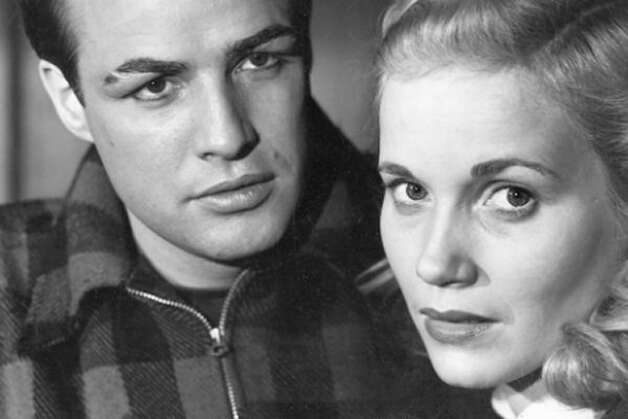 On the Waterfront -- Brando and Eva Marie Saint.  Suggested by noirish one.