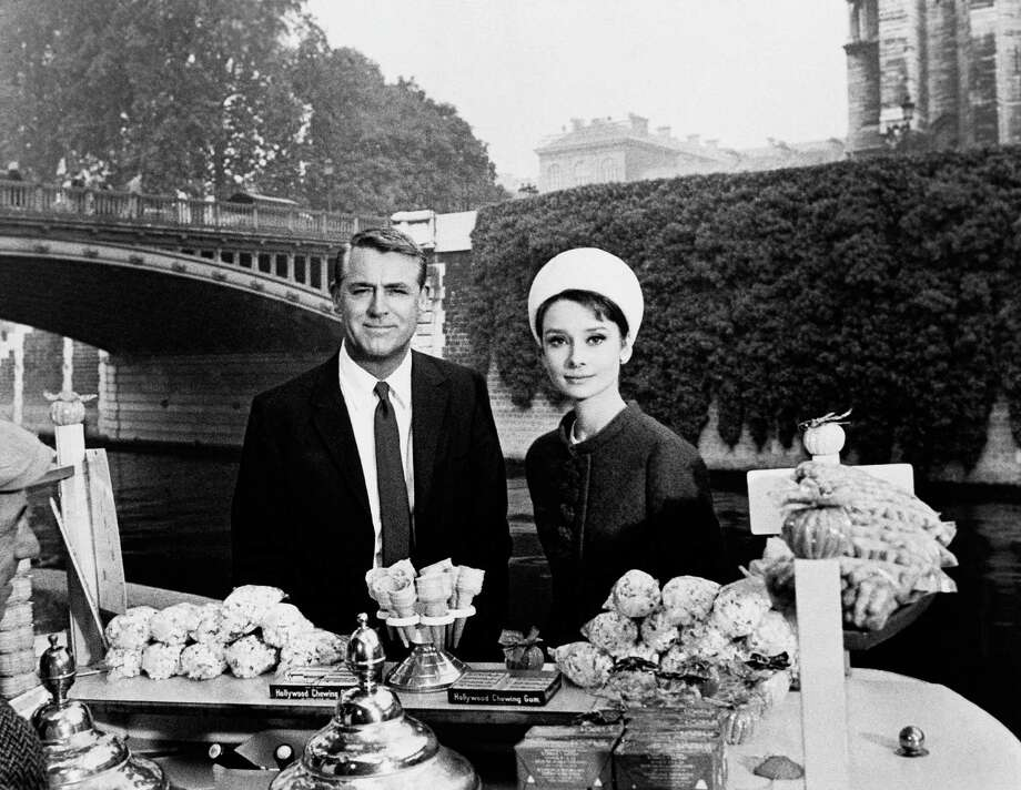 Actors Cary Grant and Audrey Hepburn in a scene from CHARADE. Photo: ASSOCIATED PRESS / AP1963