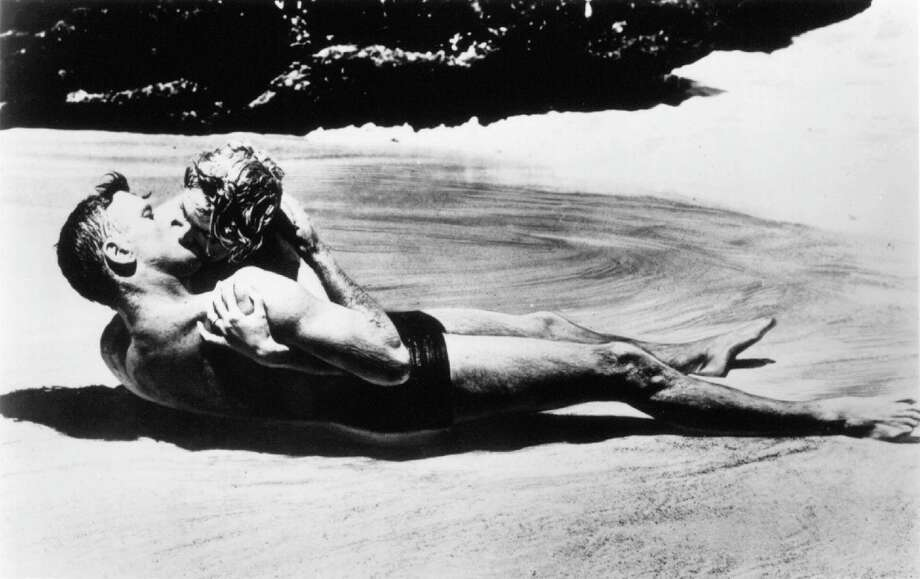 From Here to Eternity -- another classic, with Deborah Kerr and Burt Lancaster.  She's the one on top. Photo: HO, REUTERS / X80001
