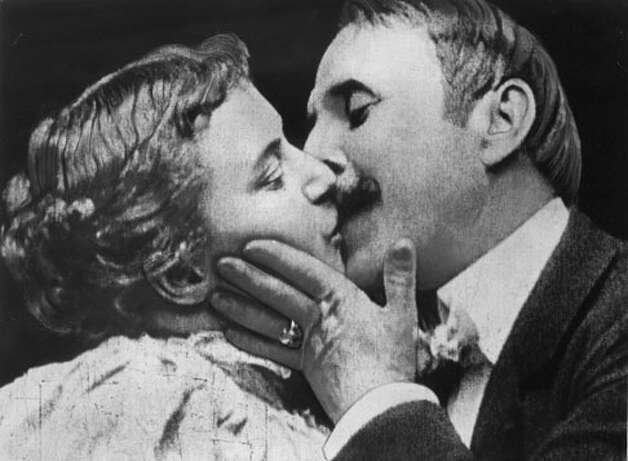The Kiss -- not the cutest people going, but they got things started in 1896 -- stage performers, re-enacting the end of their Broadway show, in a 30-second film that had everyone talking.