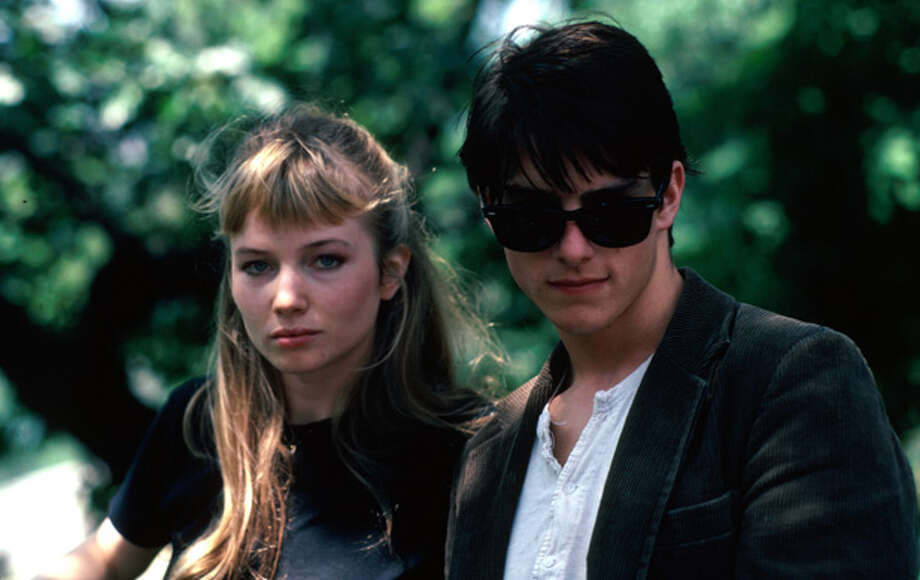 Rebecca DeMornay and Tom Cruise.  Risky Business. Suggested by censoredforlife. Photo: Time & Life Pictures/Getty Image
