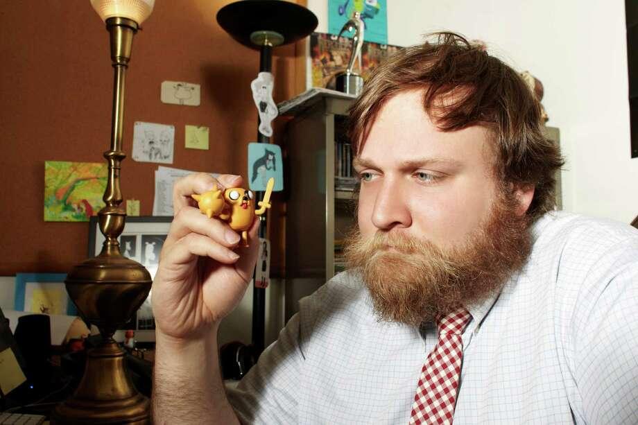 "Pendleton Ward is creator of the Emmy-nominated Cartoon Network series ""Adventure Time."" Ward grew up in San Antonio. Photo: Photos Courtesy Cartoon Network"
