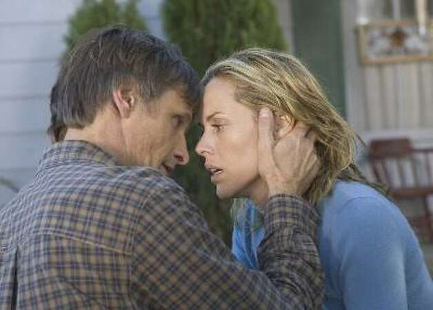 A History of Violence, with Viggo Mortensen and Maria Bello -- always lucky with her lovers. Photo: Takashi Seida