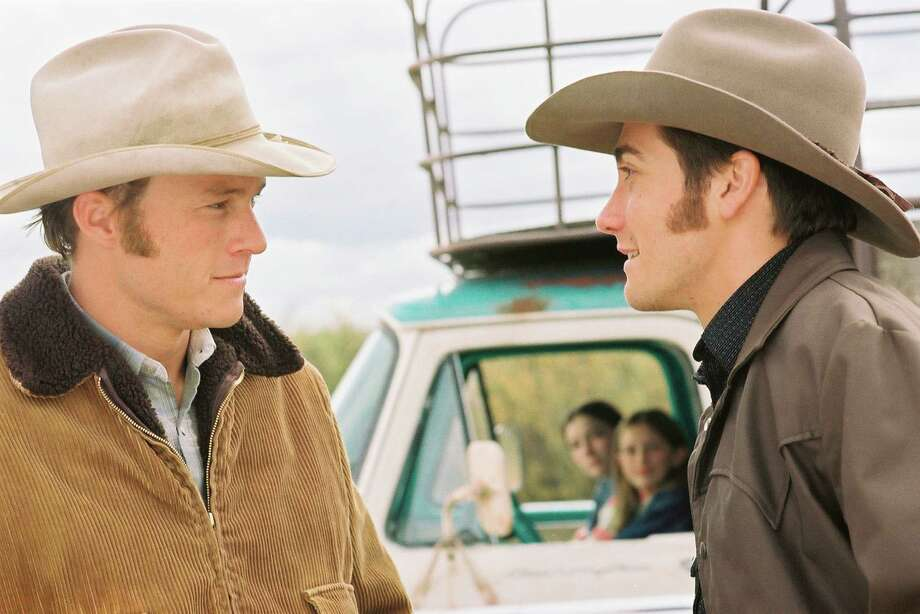 Heath Ledger and Jake Gyllenhaal in a scene from Brokeback Mountain. Photo: KIMBERLY FRENCH, ASSOCIATED PRESS / AP2005