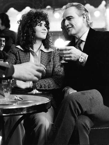 Last Tango in Paris -- with Brando and Maria Schneider.